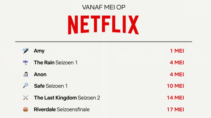 Netflix communiceert met emoticons het genre van nieuwe series