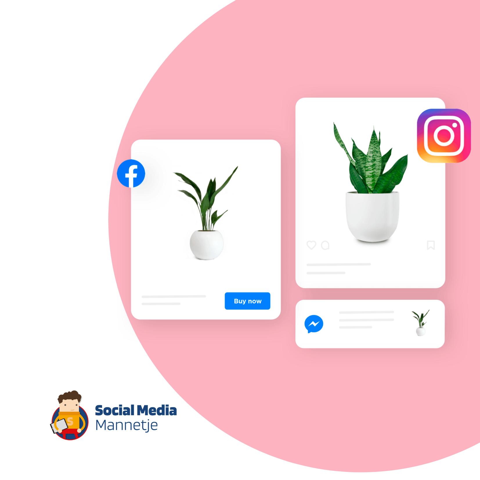Start jouw winkel op Facebook en Instagram