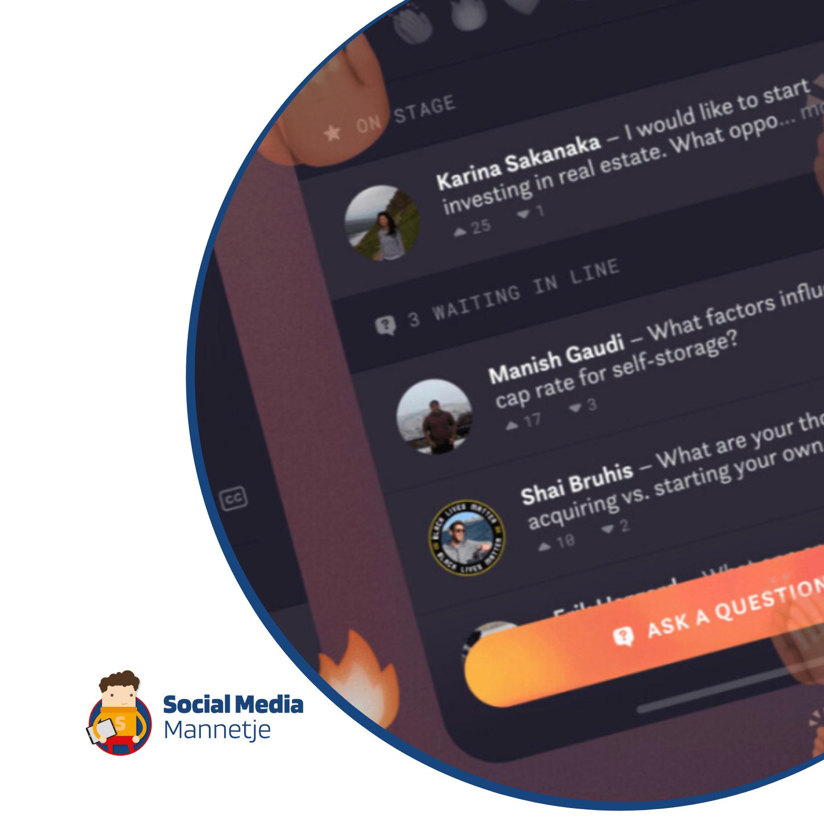 Facebook introduceert Hotline, een nieuwe concurrent voor Clubhouse